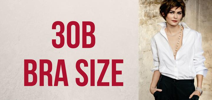 30b bra size